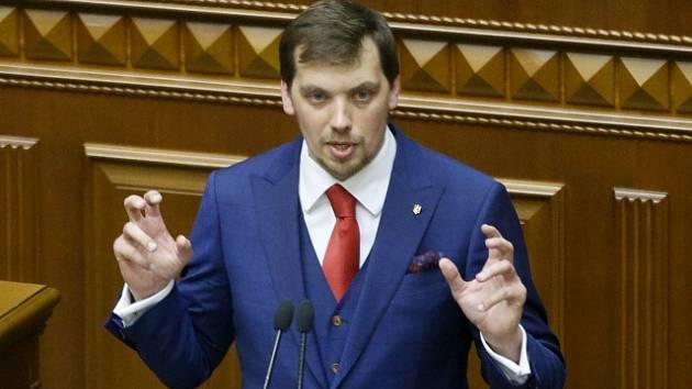 Předseda ukrajinské vlády Oleksij Hončaruk