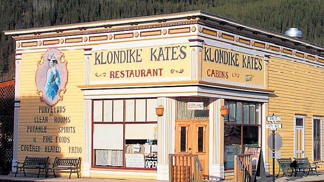 Dobový restaurant láká všechny zlatokopy na své vybrané speciality.
