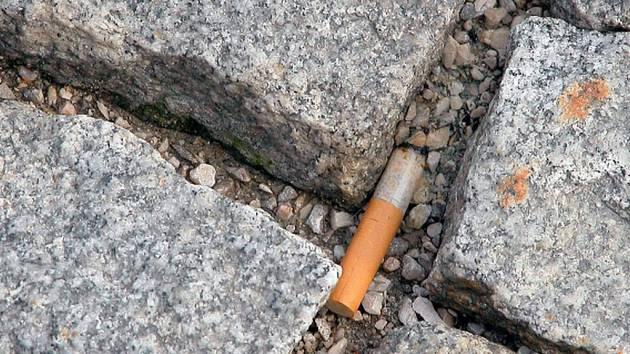 Paříž, kde kuřáci ročně odhodí na zem na 350 tun nedopalků, zavedla tvrdé protiopatření. Odhození nedopalku na chodník se trestá pokutou ve výši 68 eur.