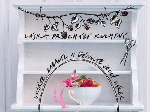 Kuchařská kniha Láska prochází kuchyní