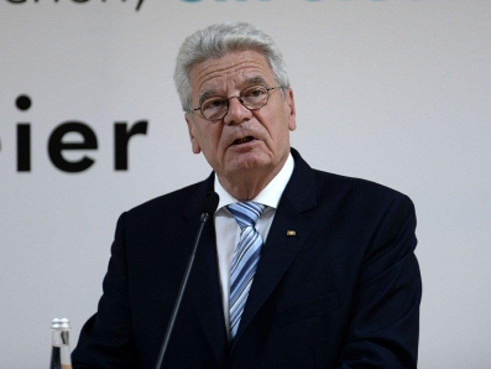Německý prezident Joachim Gauck.