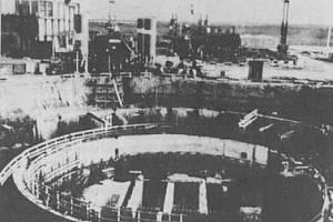 Irácký reaktor Osirak před izraelským útokem