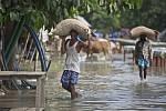 Ničivé povodně v Indii
