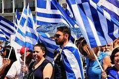 Evropská unie je připravena Řecku za určitých podmínek finančně vypomoci. Ilustrační foto.