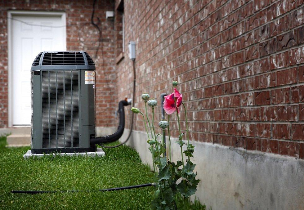 Vysoce účinná moderní jednotka AC-topení