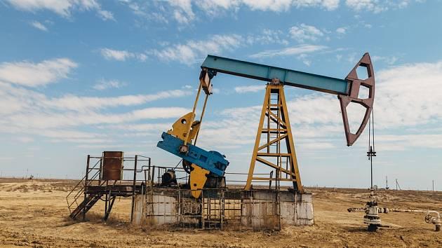 Těžba ropy. Ilustrační snímek