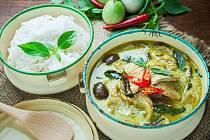 thajské zelené karí