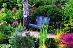 Jezírko zahradě svědčí