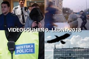 Videosouhrn Deníku – úterý 9. ledna 2018