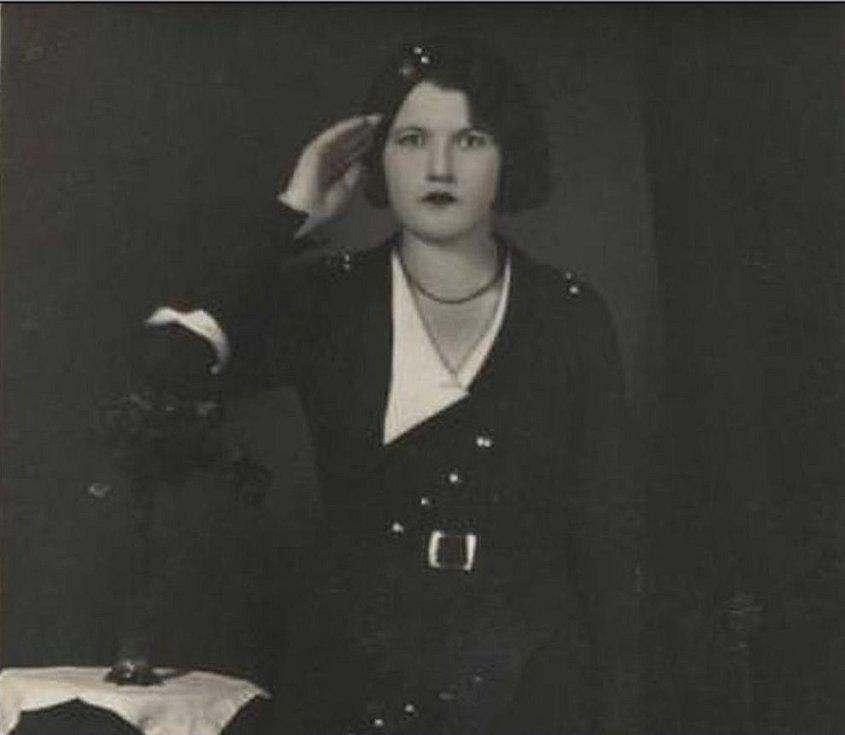 Otýlie Vranská na jedné z portrétních fotografií, které si pořídila
