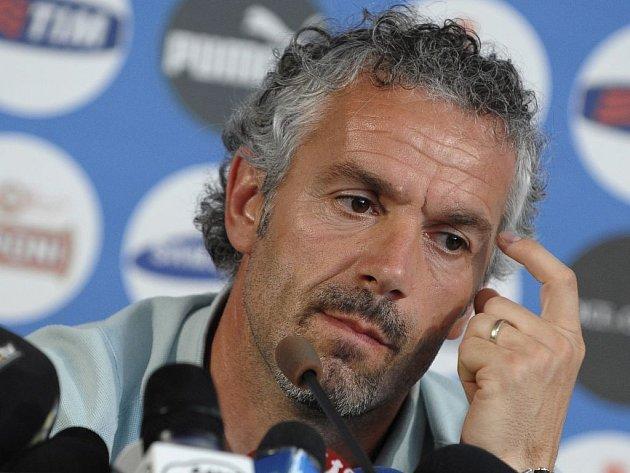 Trenér Italů Roberto Donadoni.