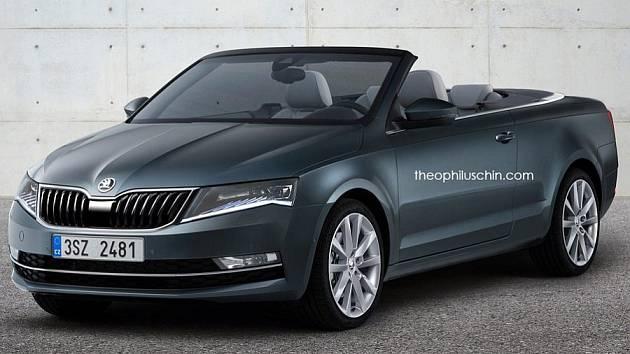 Škoda Octavia jako kabriolet.