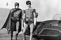Adam West ve své životní roli seriálového Batmana