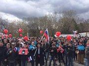 Demonstrace v Chabarovsku