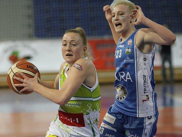 Basketbalistky z Trutnova vyřadily Valosun Brno