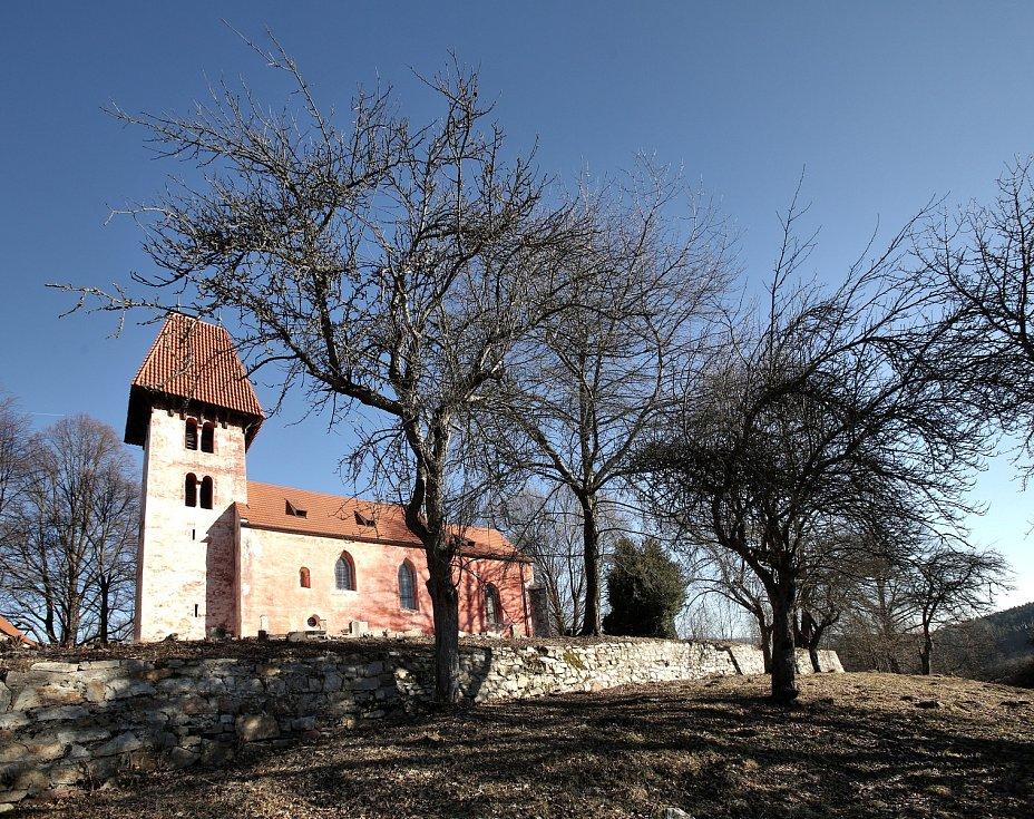 Boletice - kostel sv. Mikuláše
