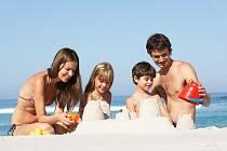 Pobyt u moře dětem prospívá. Ilustrační foto
