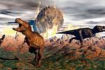 Poslední den dinosaurů v představách současných umělců