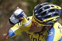 Alberto Contador na Vueltě.