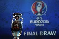 Trofej pro fotbalové mistry Evropy.