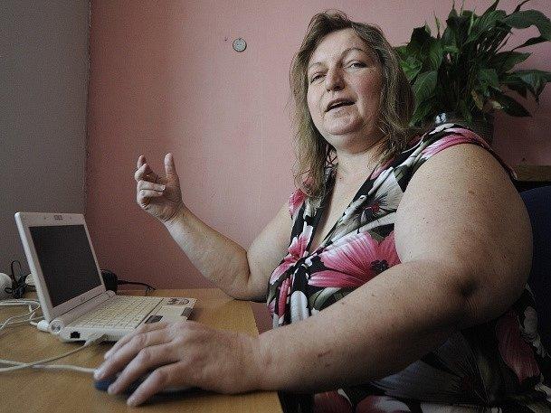 Pětačtyřicetiletá Jiřina Sýkorová z Třebíče