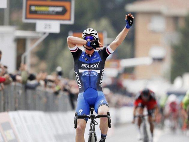 Zdeněk Štybar kraloval druhé etapě závodu Tirreno-Adriatico.