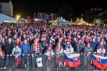 Fanzóna pro fanoušky v Košicích