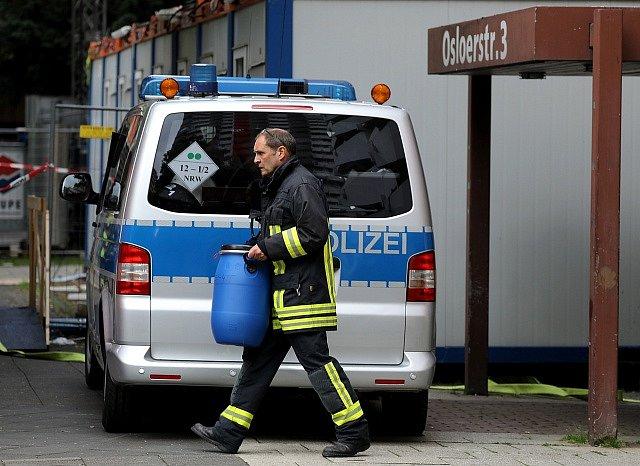 Policejní razie v Kolíně nad Rýnem
