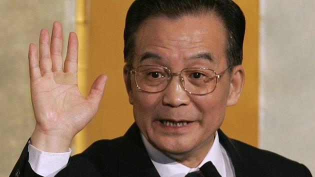 Čínský premiér Wen Ťia-pao