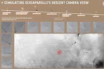 Experimentální modul Schiaparelli se během přistávacího manévru roztříštil o povrch Marsu a po dopadu zřejmě explodoval.