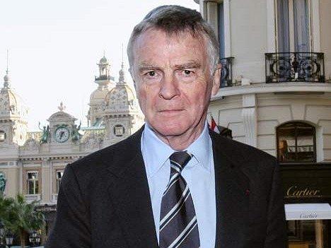 Prezident Mezinárodní automobilové federace Max Mosley.