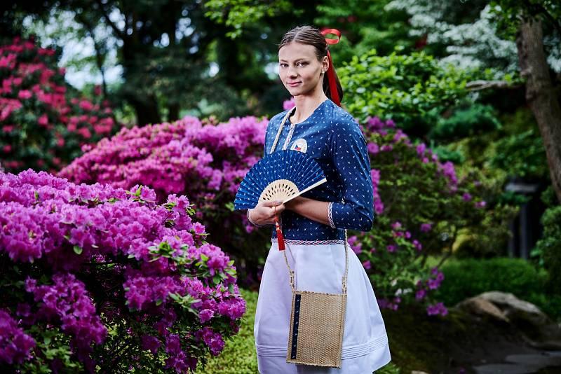 Barbora Seemanová v nástupové kolekci pro Tokio