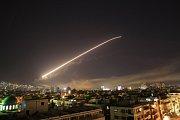 Vojenský útok v Sýrii.