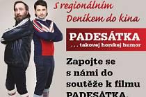 Zapojte se s námi do soutěže k filmu PADESÁTKA, který má premiéru 24.12.2015.