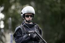Francouzský policista. Ilustrační foto.