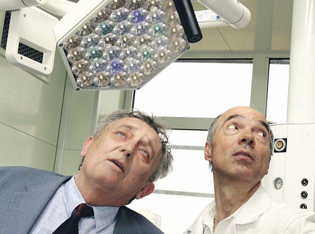 Táborská nemocnice představila nově otevřené sály