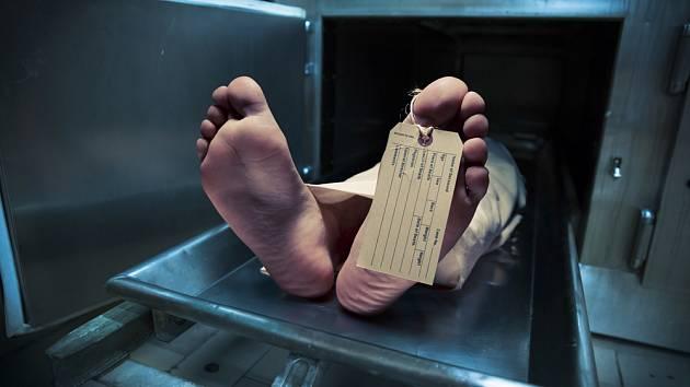 Lidské tělo v márnici - Ilustrační foto