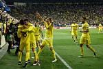 Radost hráčů Villarealu.