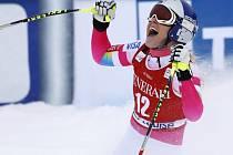 Lindsay Vonnová slaví triumf v Lake Louise
