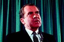 Richard Nixon  je podle řady průzkumů stále nejméně populárním prezidentem USA všech dob.
