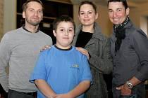 Slavnostní vyhlášení celorepublikového projektu Dětský čin roku 2012 na Staroměstské radnici. V kategorii Záchrana lidského života byl oceněn Patryk Szymczak (13 let) z Kolína a jeho patronem byl herec Jan Révai.