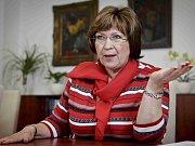 Ministryně práce a sociálních věcí Ludmila Müllerová.