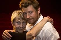 Seriálová matka Daniela Kolářová se synem Davidem Švehlíkem.
