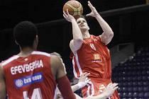 Lukáš Palyza z ČEZ Basketball Nymburk.
