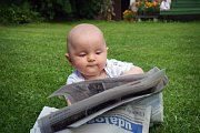 Číslo 2: Deník si vypůjčil náš malý syn, také si hezky početl.