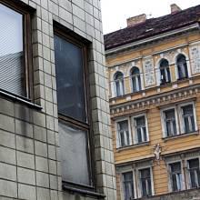 Siwiecova ulice na rozhraní Žižkov a Vinohrad v Praze