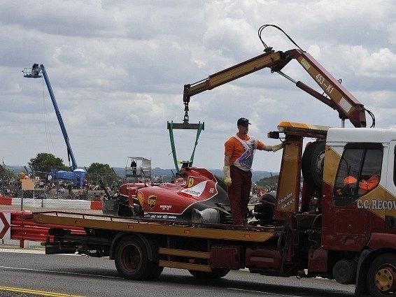 Velká cena Británie: Auto Kimiho Räikkönena
