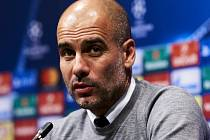 Trenér Manchesteru City Pep Guardiola