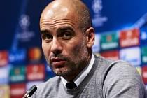 Trenér Manchesteru City Pep Guardiola