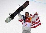 Shawn White vybojoval v Pchjongčchanfu své třetí olympijské zlato z U-rampy.